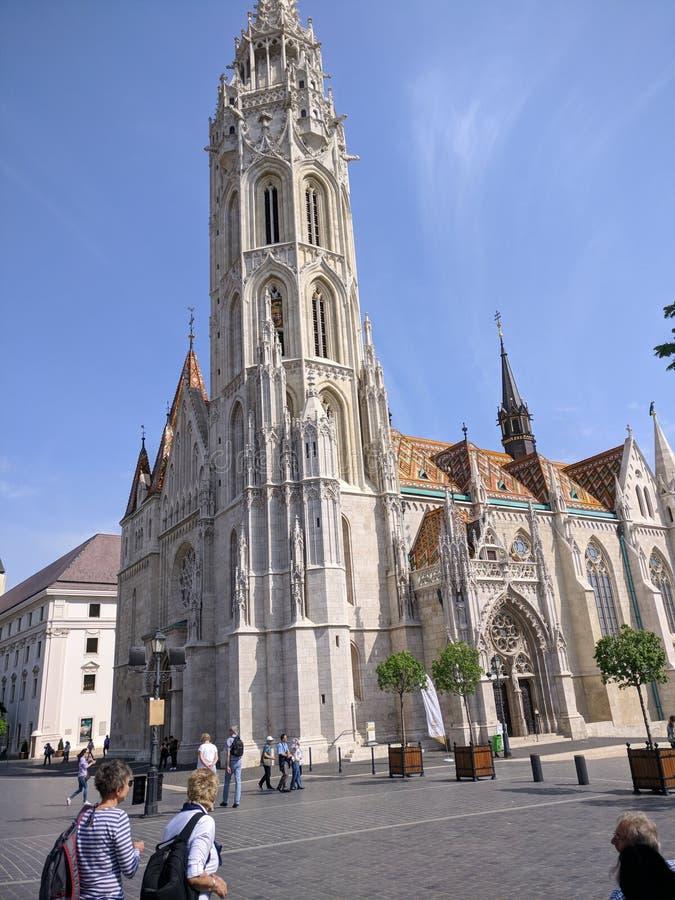 Matthias Cathedral stockbild