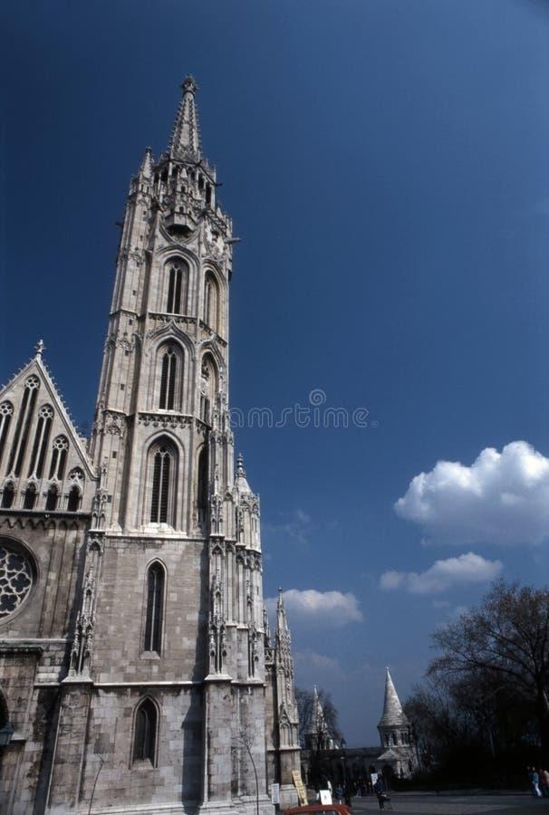 Matthias church stock image