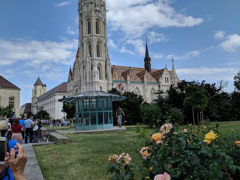 Matthias Church photo stock