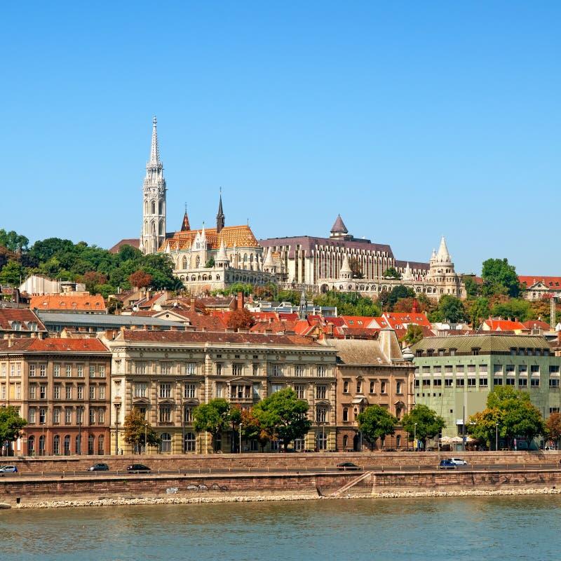 Matthias Church, Budapest - Hungary stock image