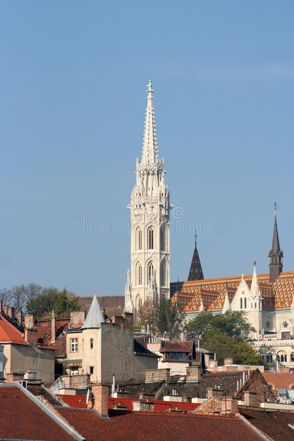 Matthias Church royalty free stock photos