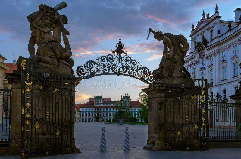 Matthias gate stock photography