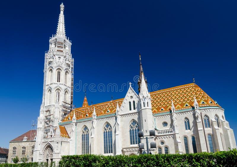 Matthias Templon, Budapest, Hungary royalty free stock photography