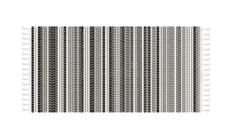 Mattillustration som isoleras på vit bakgrund Bästa sikt för filt royaltyfri illustrationer
