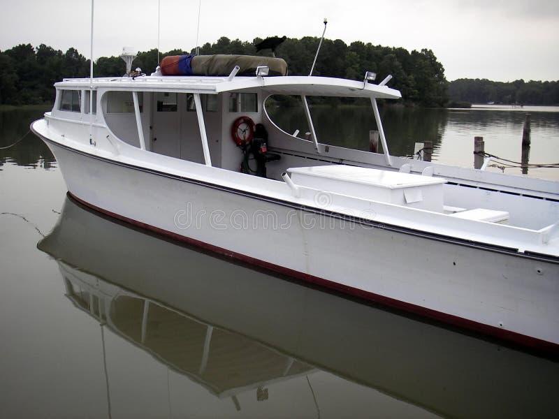 Mattina della baia di Chesapeake fotografia stock