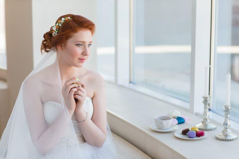 Mattina della sposa fotografia stock