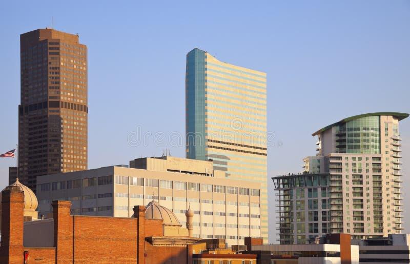 Mattina a Denver fotografia stock
