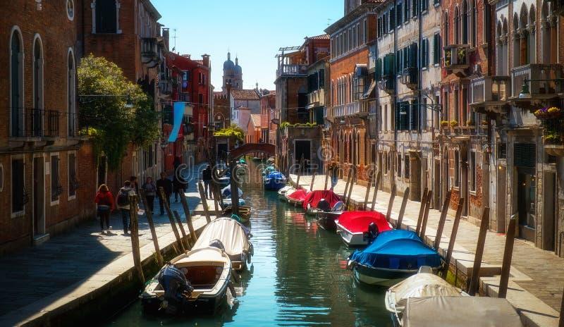 Mattina di Venezia L'Italia fotografia stock libera da diritti