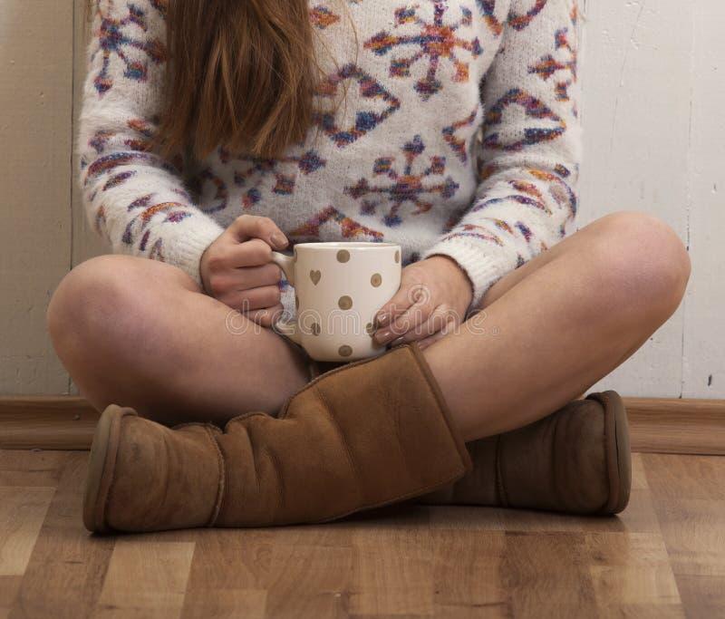 Mattina dolce del caffè fotografia stock
