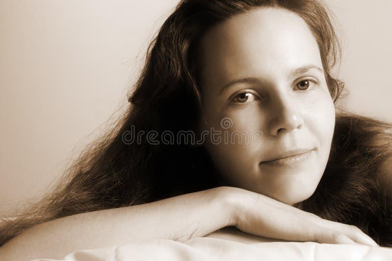 Mattina girl-5-ST fotografia stock libera da diritti