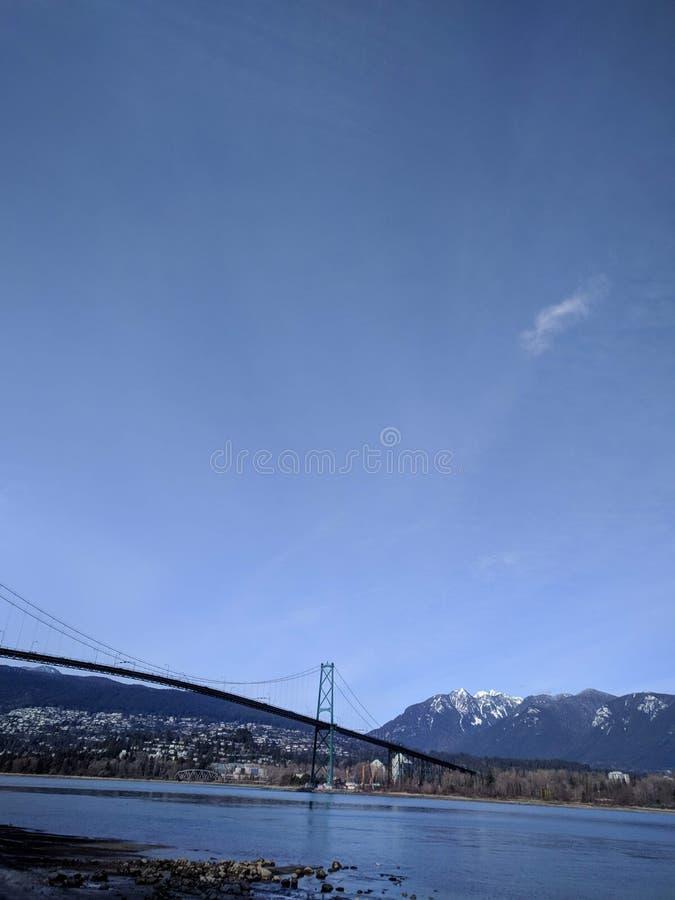 Mattina magica in Stanley Park, Vancouver fotografia stock libera da diritti