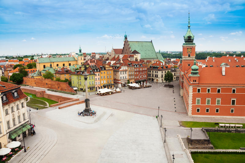 Mattina in Polonia immagini stock