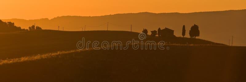 Download Mattina in Toscana fotografia stock. Immagine di paesaggio - 7315482