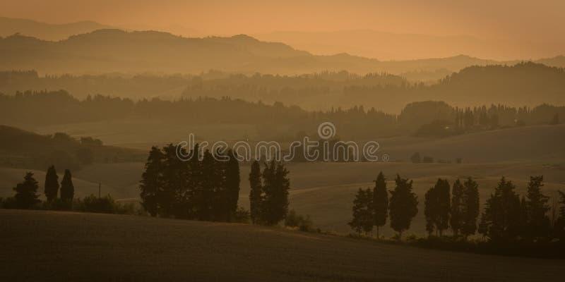 Download Mattina in Toscana immagine stock. Immagine di italia - 7315501
