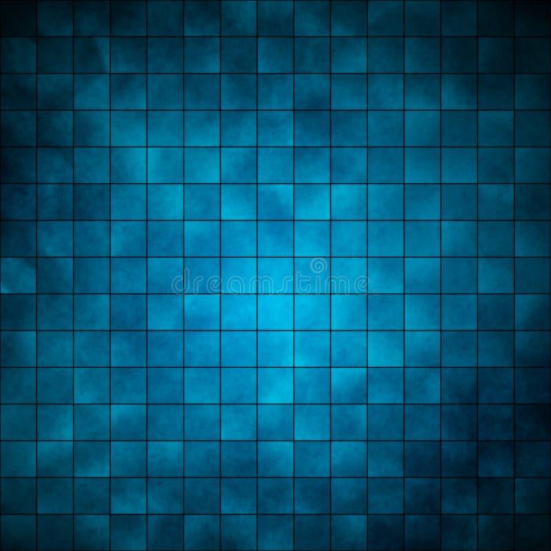 Mattonelle - azzurro illustrazione vettoriale