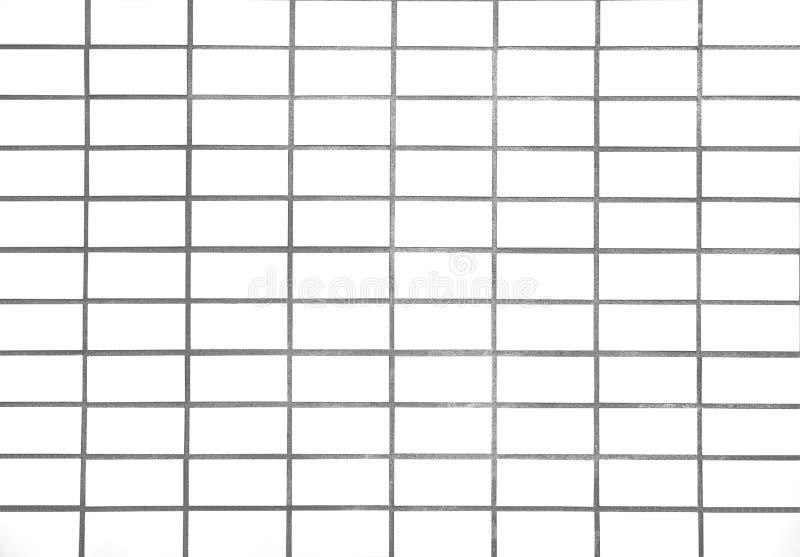 Mattonelle bianche fotografia stock
