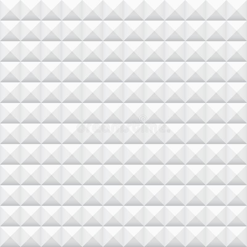 Mattonelle bianche, quadrati royalty illustrazione gratis