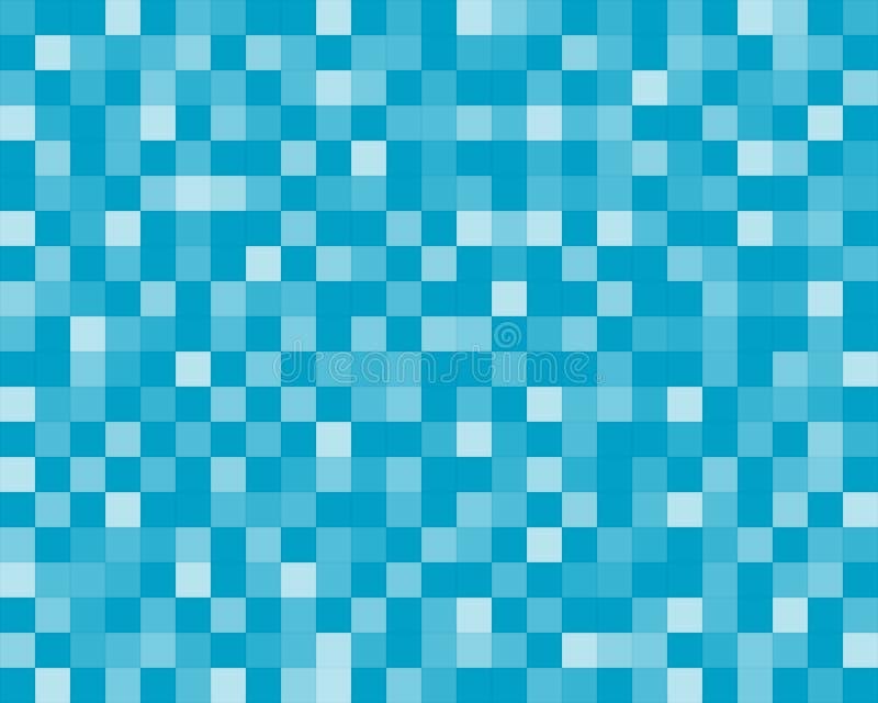 Mattonelle blu illustrazione di stock