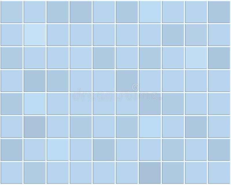 Mattonelle blu illustrazione vettoriale