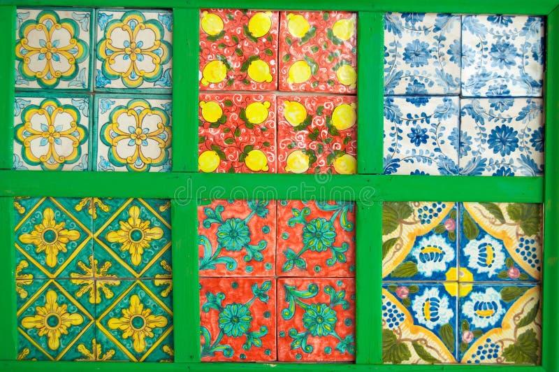 Mattonelle Colourful e decorative. Tempo di festa. fotografie stock