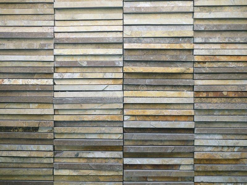 Mattonelle della parete di pietra fotografie stock