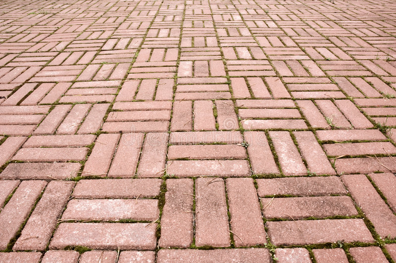 Mattonelle della pavimentazione fotografie stock libere da diritti