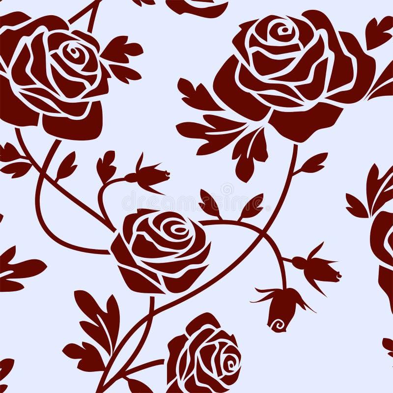 Mattonelle delle rose royalty illustrazione gratis