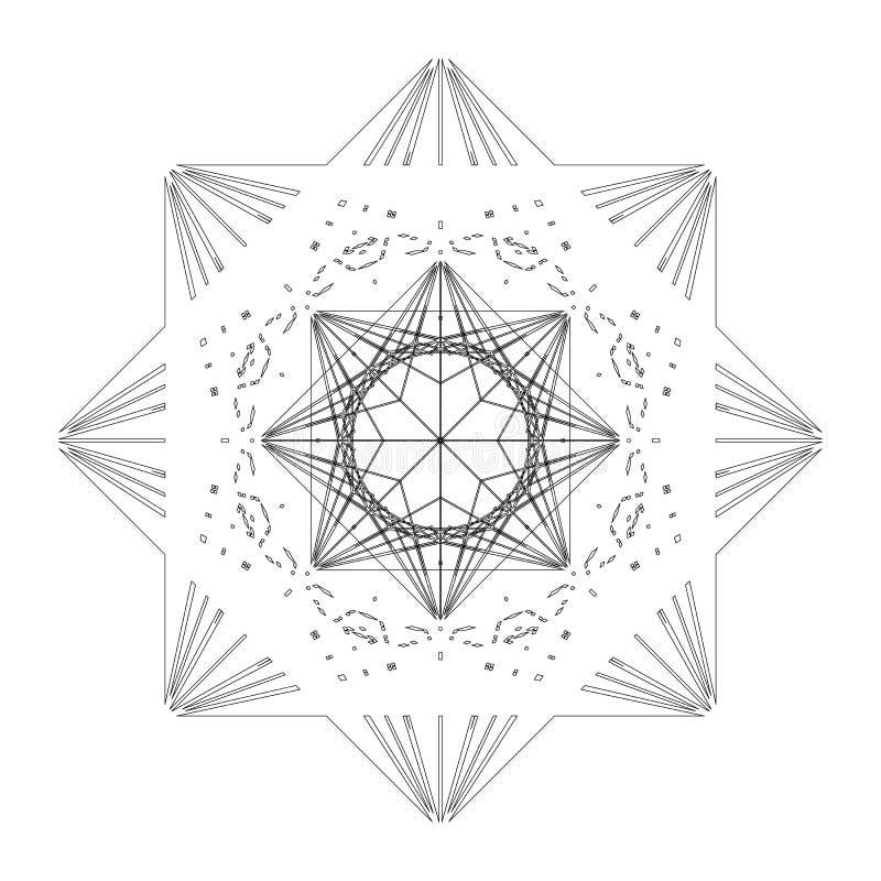 Mattonelle di forma della stella royalty illustrazione gratis