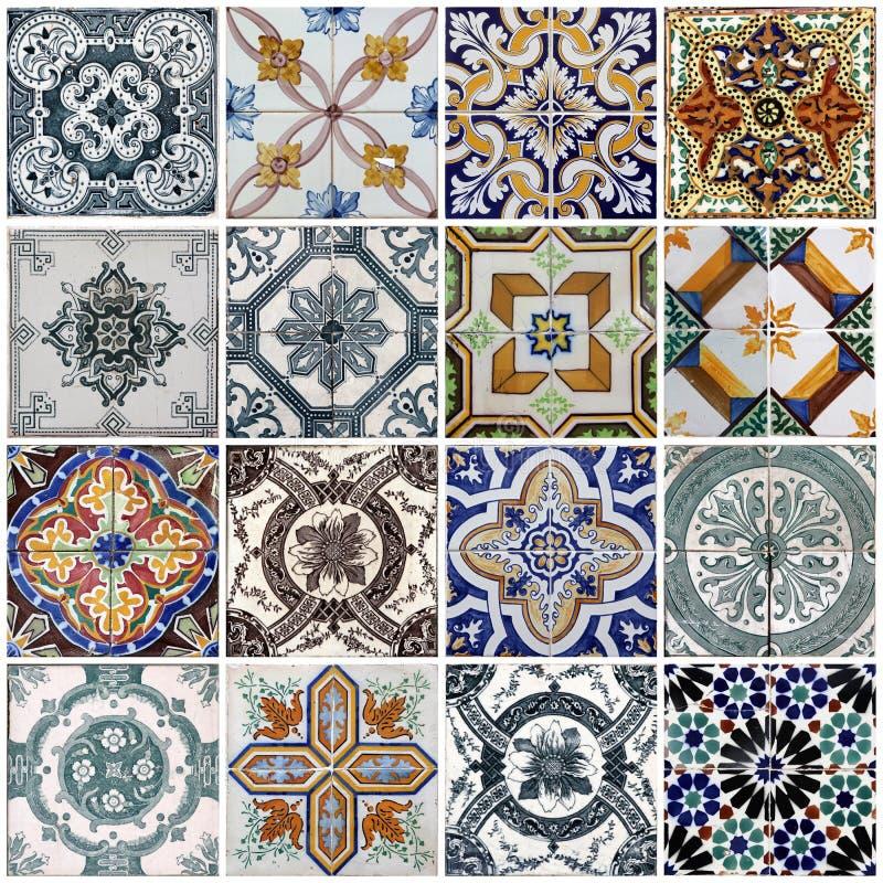 Mattonelle di Lisbona immagini stock