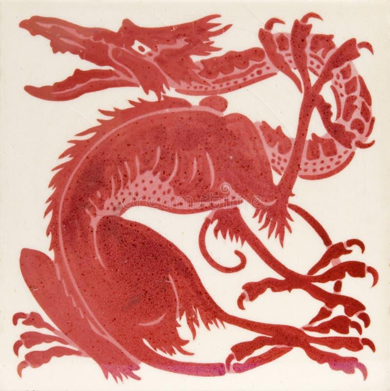 Mattonelle di lustro del Victorian immagini stock libere da diritti