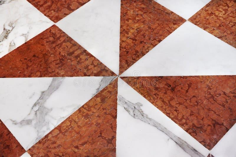 Mattonelle di marmo della decorazione immagine stock