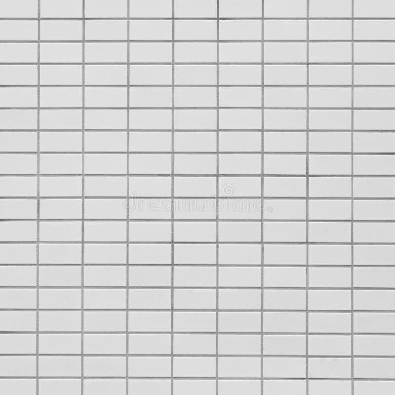 Mattonelle di mosaico bianche fotografie stock libere da diritti