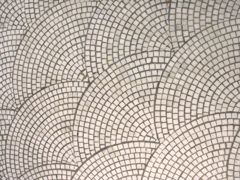 Mattonelle di mosaico dell'annata immagini stock libere da diritti