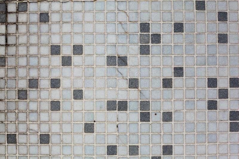 Mattonelle di mosaico quadrate fotografie stock