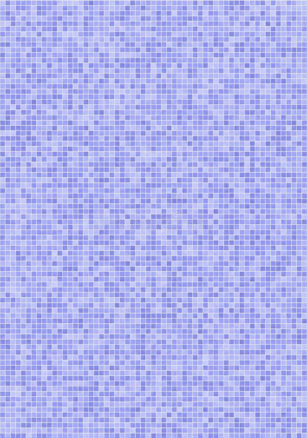 mattonelle di mosaico Viola-blu royalty illustrazione gratis