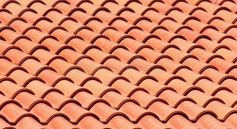 Mattonelle di tetto immagine stock