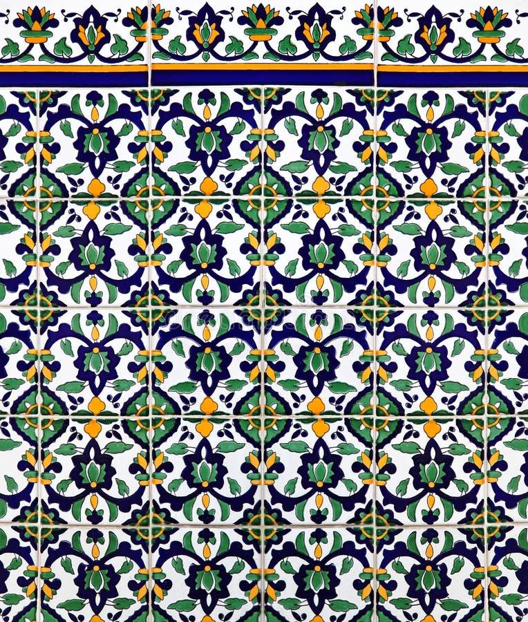 Mattonelle Medioevali Immagine Stock