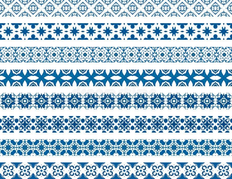 Mattonelle portoghesi illustrazione di stock