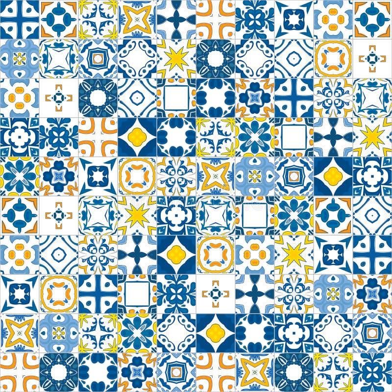 Mattonelle portoghesi royalty illustrazione gratis