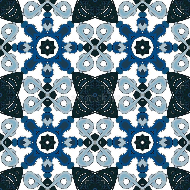 Download Mattonelle portoghesi illustrazione vettoriale. Illustrazione di mosaico - 56877511