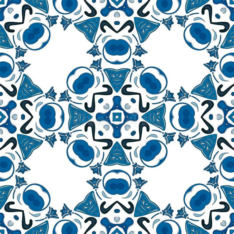 Download Mattonelle portoghesi illustrazione vettoriale. Illustrazione di decorativo - 56878144