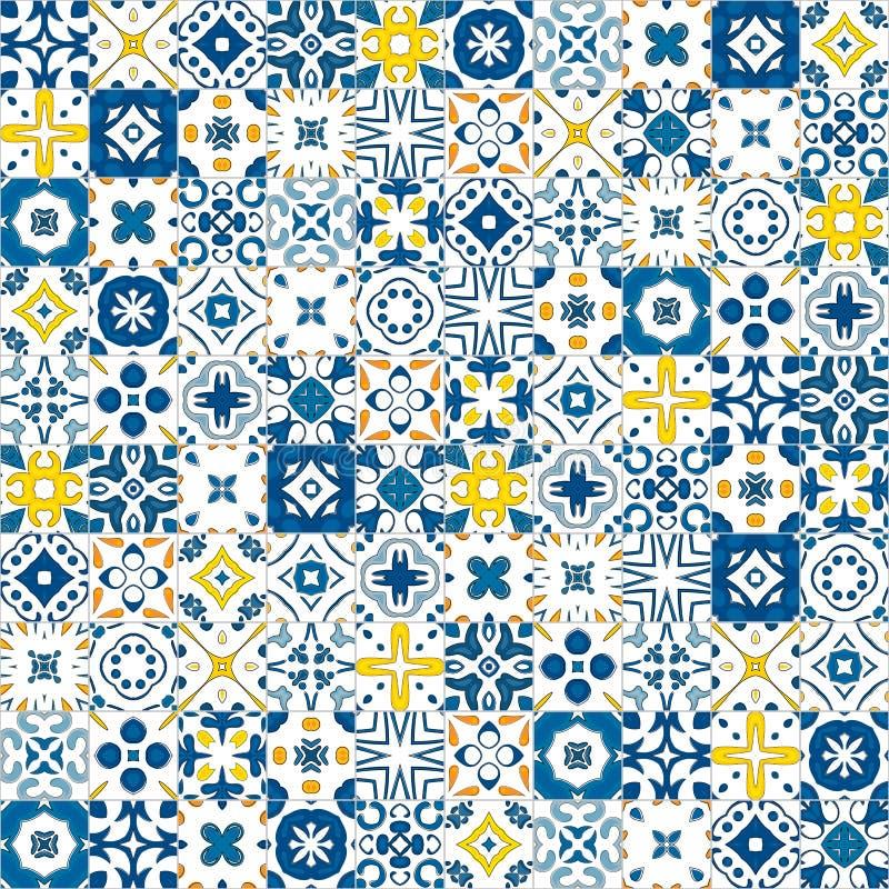 Mattonelle portoghesi illustrazione vettoriale