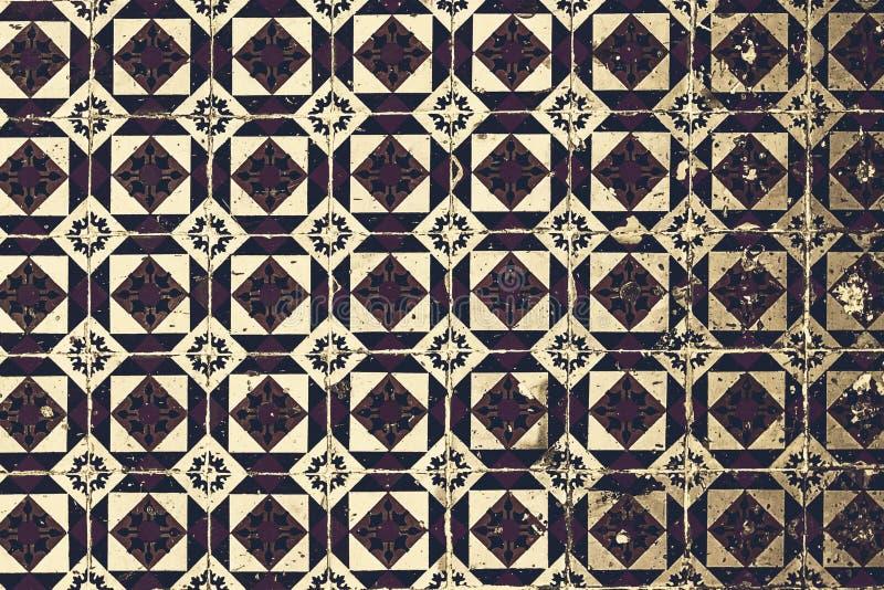 Mattonelle portoghesi tipiche, Azulejo blu, Spagnolo, italiano e Mo illustrazione vettoriale