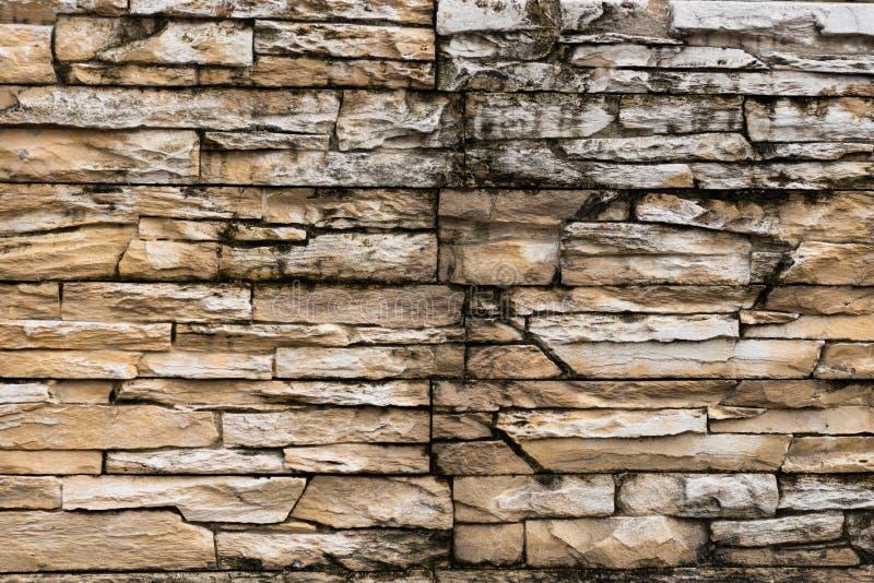 Mattonelle rustiche della pietra della sabbia fotografie stock