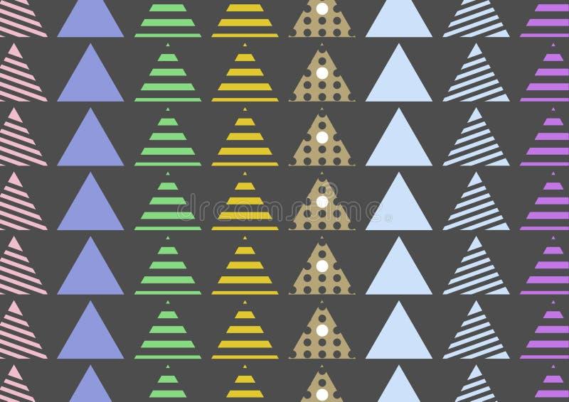 Mattonelle senza cuciture del modello Fondo disegnato a mano degli elementi decorativi d'annata Perfezioni per la stampa sul tess royalty illustrazione gratis
