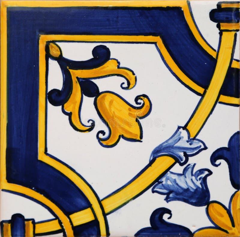 Mattonelle tradizionali da Oporto immagine stock