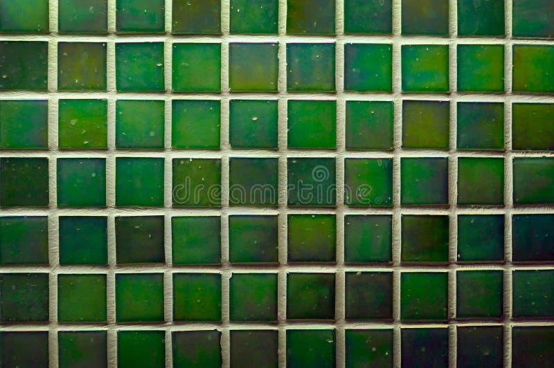 Mattonelle verdi della parete come immagine di sfondo fotografia stock libera da diritti