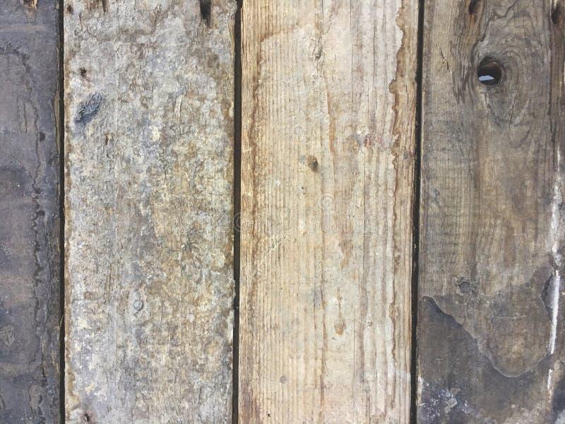 Mattoni di legno sporchi, struttura del fondo fotografia stock
