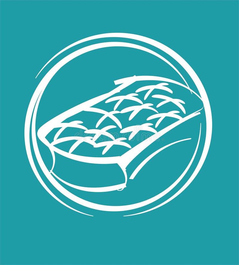 Mattress. Symbol of mattress