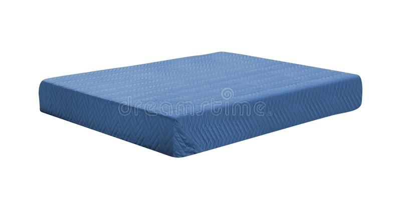 Mattress isolated on white stock images